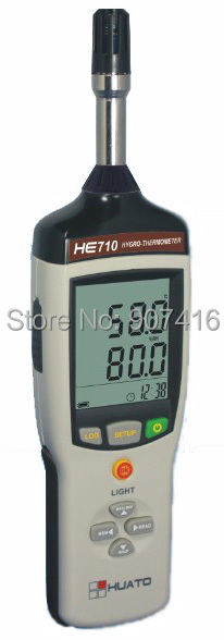 HE815-TH Protable Type Temperature and Humidity Recorder with sensor include programmable with software<br><br>Aliexpress