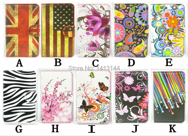 Case Huawei Ascend Y550 New Fashion Black Zebra White Butterfly Sakura UK USA PU Leather Phone Cases Bags Shell Cover Y 550 - World store