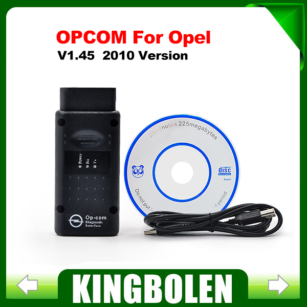 2015 Free Shipping V1.45 Latest Version OBD2 Op-com / Op Com / Opcom for Opel 3 Years Warranty(China (Mainland))