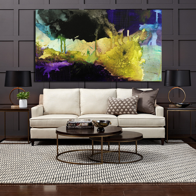 The famous living room oil painting Abstract art wall painting HD print canvas painting modern home living room art picture CX20(China (Mainland))