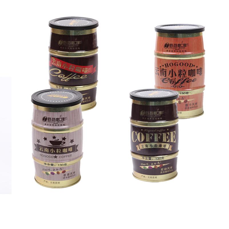 new 2015 Small grain coffee three in instant charcoal vanilla rose mocha coffea arabica beans refined