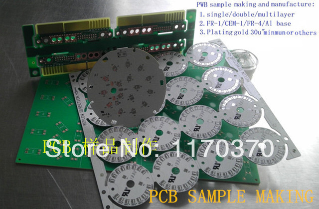 Pcb Sampling Building Materials : Pcb single sided double multilayer material fr