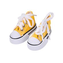1 пара джинсовая парусиновая обувь; джинсовая текстильная обувь для BJD куклы мини кукла Обувь для Шарон кукла Сапоги и ботинки для девочек Ку...(China)