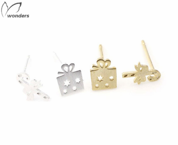 Gold Plated, Gift Box, Earrings magic stick womens fashion jewelry<br><br>Aliexpress