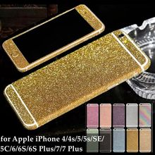 Buy iPhone 7 Plus 6s 5s SE 5C 4S Cell Phone Decor Full Body Sticker Fashion Skin Luxury Diamond Bling Film Apple iPhone7 for $1.39 in AliExpress store