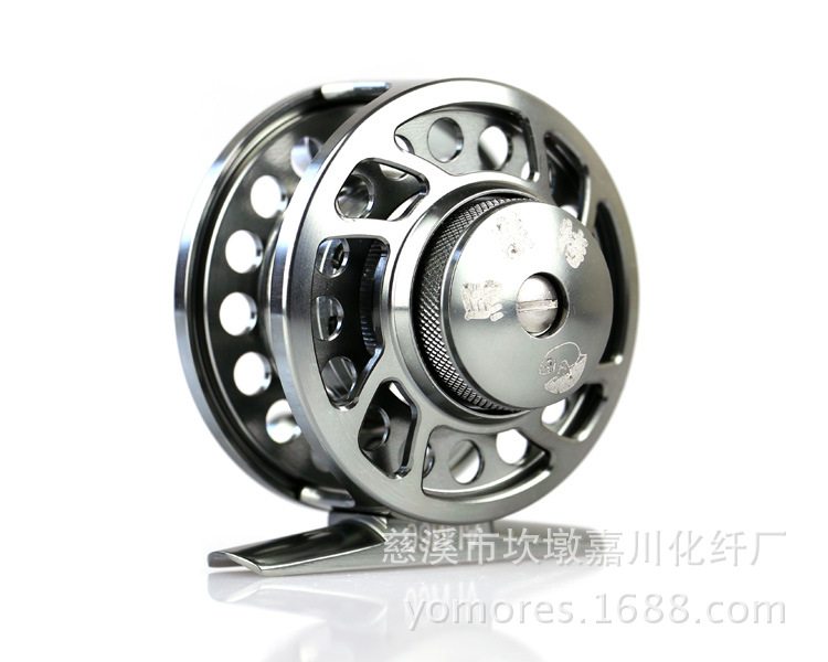 Fly Fishing Reel 2+1BB Fishing Wheel For Lure Rod Fishing Reels for Rock Fis hing Rod Large Arbor Die Casting Aluminum Fly Reel(China (Mainland))