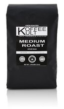 Koffee Kult Medium Roast Coffee Beans 2 lb Whole Bean Highest Quality Delicious Coffee Fresh Gourmet