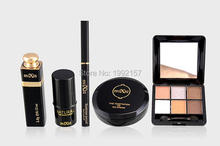 Fashion professional Makeup set 9 times naked makeup makeup for beginners Cosmetic sets black tie for women  GIFT FREE SHIPPING(China (Mainland))