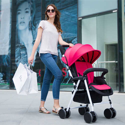 Hot Worldwide Mei Red Folding Wagon Cart Infant Stroller 4 Colors High Quality Buggy 600D High Density Oxford + Lycra Cloth(China (Mainland))