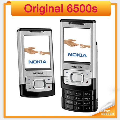 Original Nokia 6500s Mobile Phone 6500 Slide Cell phones 3G Bluetooth Mp3 Player(China (Mainland))
