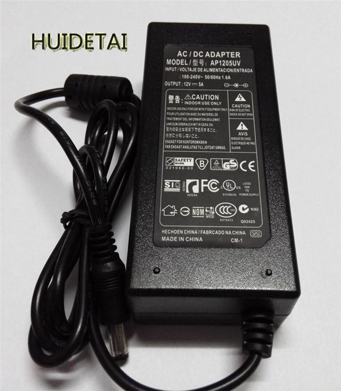 LCD AC Power Supply Adapter DC 12 Volt 5 Amp (12V 5A) LCD Monitor Laptop(China (Mainland))