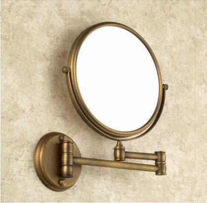 Compra oro espejos antiguos online al por mayor de china for Espejo dorado bano
