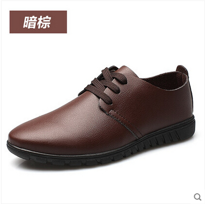 Summer New Men Casual Shoes Large Size Menu0026#39;s Business Shoes Round 47-inWomenu0026#39;s Flats From Shoes ...