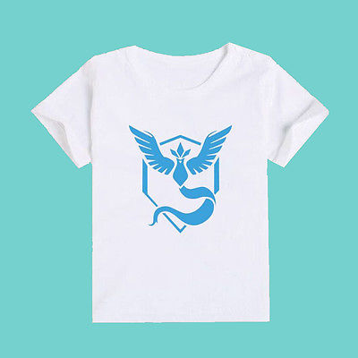 Hot font b Pokemon b font Go Kids Cartoon Tops Baby Boys Girls Short Sleeve Summer