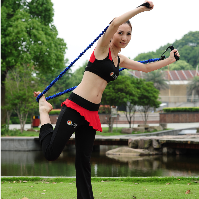 Macure Pull rope fitness elastic rope tension device belt tension household equipment yoga rope(China (Mainland))
