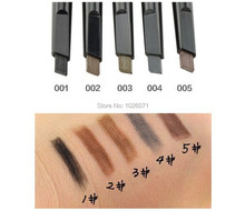 Hot selling Brand makeup eyebrow automatic pencil makeup 5 style paint for the eyebrow pencil cosmetics