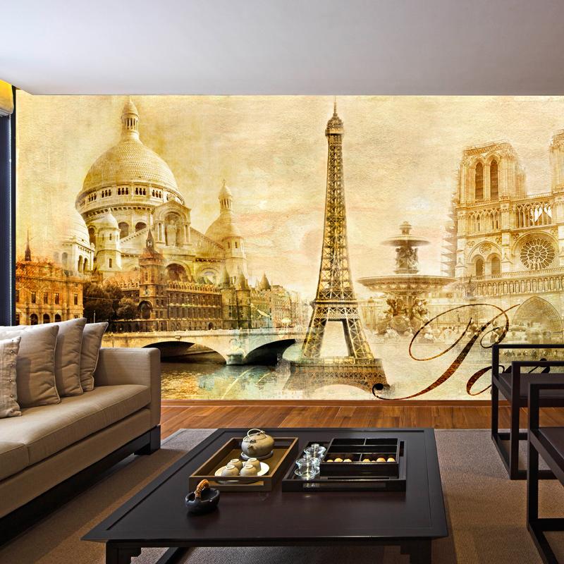 Madeira de papel de contato popular buscando e comprando for Mural decorativo pared