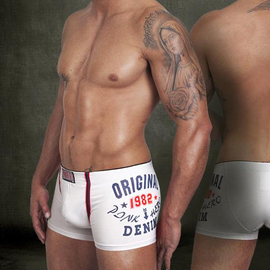 Brand New male boxer 100 Cotton sexy mens underwear boxers panties shorts men trunk M L