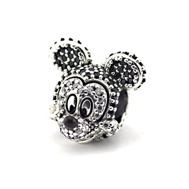 925 - серебристо-ювелирные бусины игристое животные камней бусины подходящий европейский неповторимое очарование браслеты серебро 925 ювелирных изделий DIY поиск