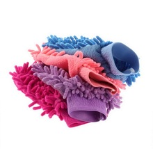 Super Mitt Microfiber Car Wash Gloves Washing Cleaning Anti Scratch car washer Household care brush hot selling~