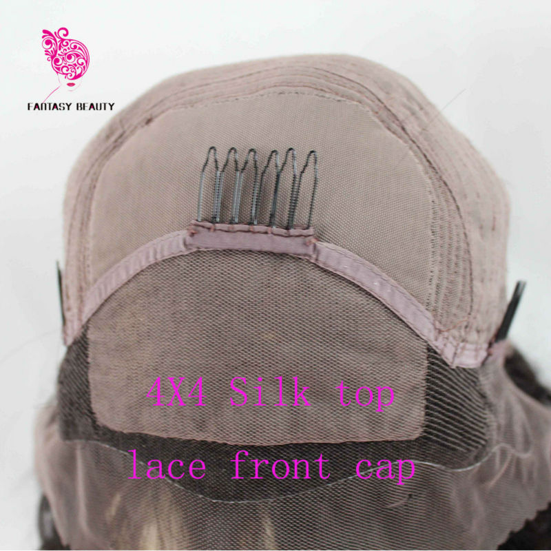 silk top lace front cap