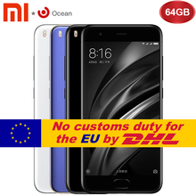 Buy Original Xiaomi Mi6 Mi 6 Mobile Phone 6GB RAM 64GB ROM Snapdragon 835 Octa Core 5.15'' NFC 1920x1080 Dual Cameras Android 7.1 OS for $429.99 in AliExpress store