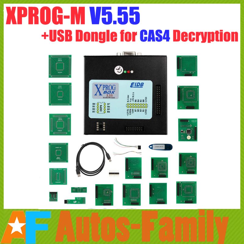 Dhl бесплатная! xprog-м V5.55