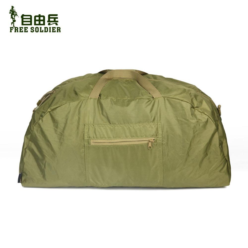 Гаджет  Free Soldier outdoor sport camping handbags skin bag lightweight folding magic bag portable bag men bag None Камера и Сумки