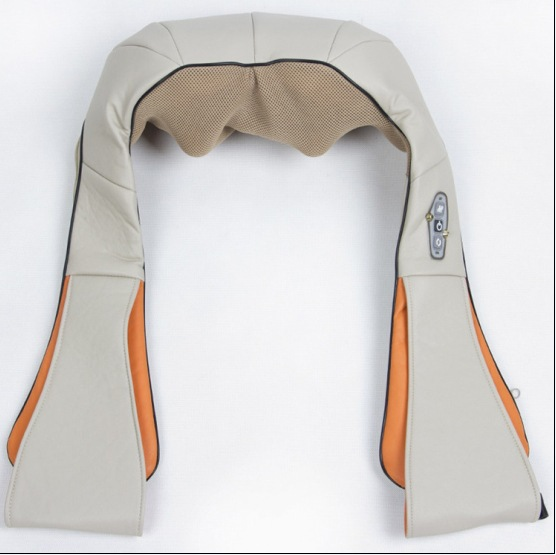 Music cervical neck and shoulder massage new car home dual heating kneading massage shawl wholesale manufacturers(China (Mainland))