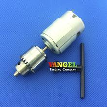 VANGEL-mini pcb taladro de columna herramienta 380 motor 3 V ~ 12 V con 0.3-4mm JT0 Chuck