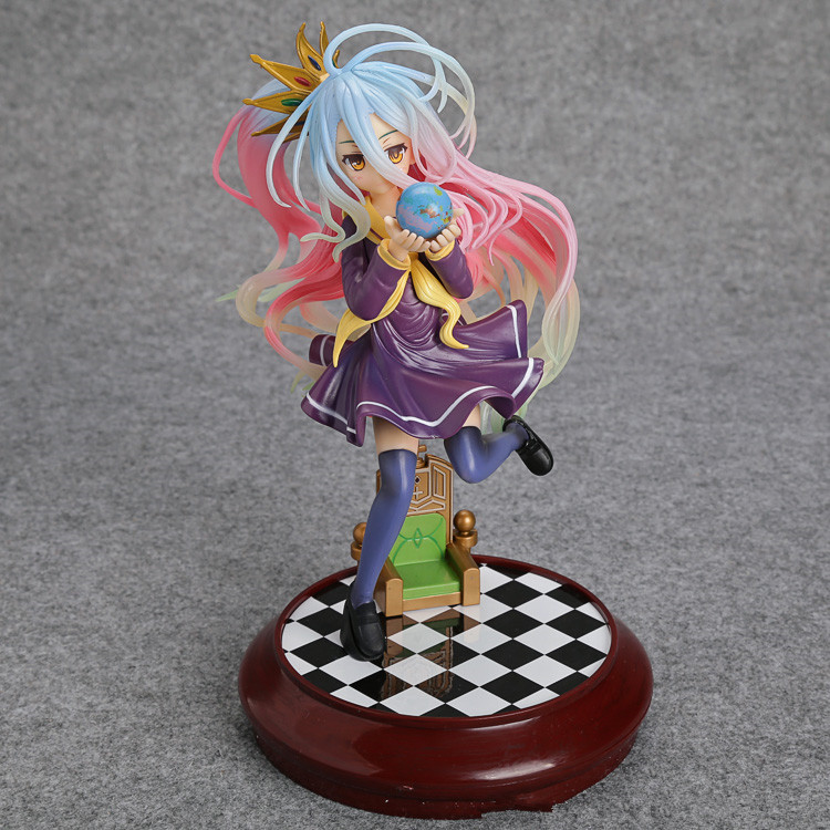 No Game No Life Imanity Shiro 1/7 Scale Painted Figure Collectible Model Toy 22cm SGFG313<br><br>Aliexpress
