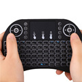 20 PCS i8 Wireless Keyboard 2 4G Air Mouse Russian Hebrew Sticker Remote Controllor Touchpad LED