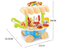 Super funny toy mini candy icecream car with light music for girl gift pink Educational Soft Montessori interactive toys PL081(China (Mainland))