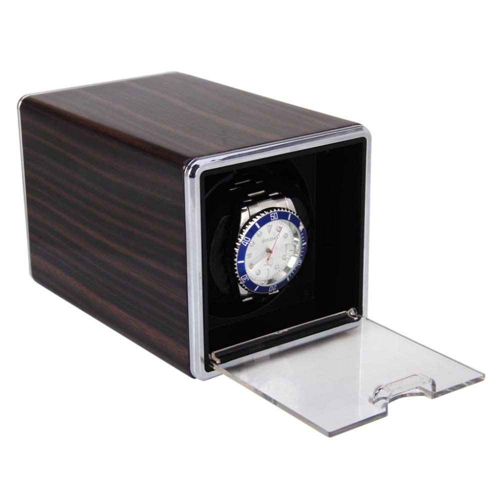 2014 NEW Rectangle Mute Automatic Single Watch Winder Gift Box(China (Mainland))