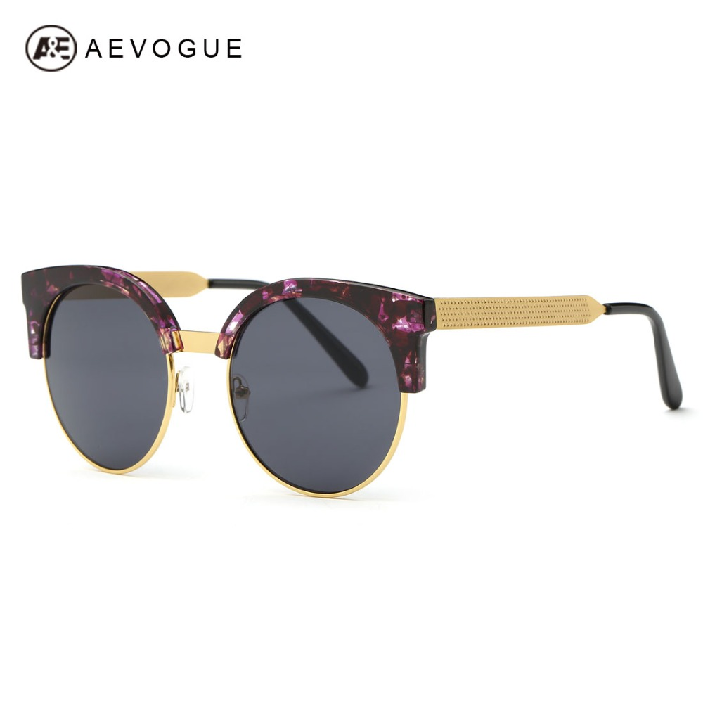 AEVOGUE Sunglasses Women Newest Cat Eye Original Brand ...