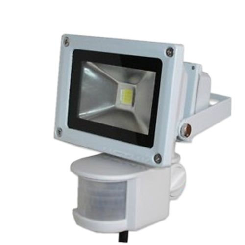 12V 10W Cool White PIR Motion Sensor LED Wash flood light