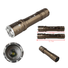7W 1000LM LED Torch CREE Q5 LED 18650 Flashlight Adjustable Focus tactical Torch Zoom Flash Light Lamp Super Mini For Camping(China (Mainland))