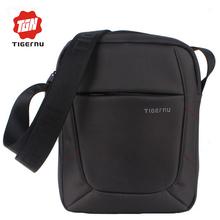 2016 New Shoulder Bag Messenger Bag Men 10 Inch Black Red Nylon Bag Messenger Small Brand Business Messenger Bags for Men(China (Mainland))