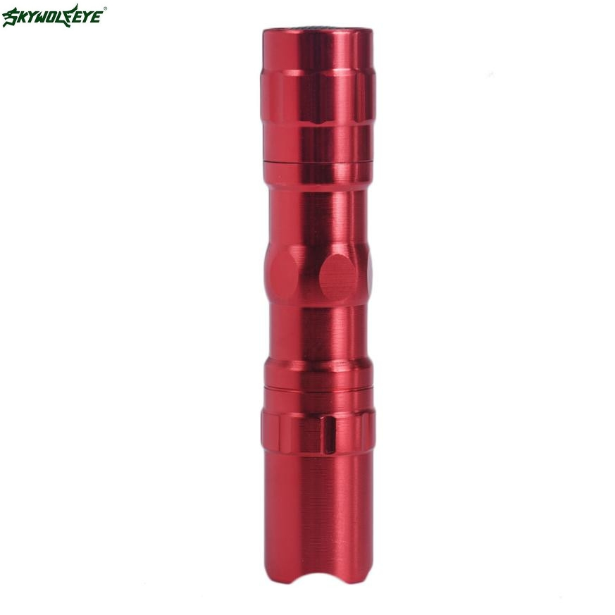 DC 1 Hot Selling Drop Shipping   4000LM Zoomable CREE XM-L Q5 LED Flashlight 3 Mode Torch Super Bright Light Lamp