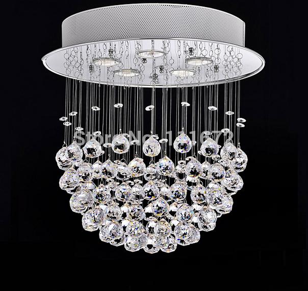 hot sales flush mount modern chandeliers crystal light