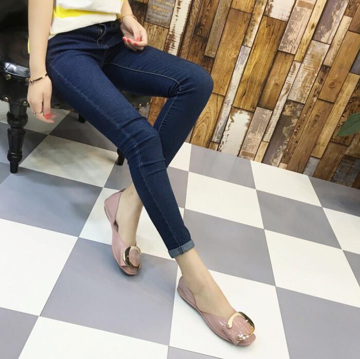 Yeni varış daireler düz ayakkabı kadın Düz Bale ayakkabıları rahat ayakkabılar Yassı-323-3-afashion kadın ayakkabı