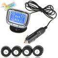 Sale InChange TPMS Mini LCD Digital Auto Car Tire Tyre Pressure Monitor Monitoring System Pressure Gauge