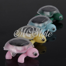 2015 Rushed Direct Selling Unisex Green Gadgets Solar Toys Mini Sunlight Solar Educational Toy Little Tortoise Turtle Gift K4404 (China (Mainland))