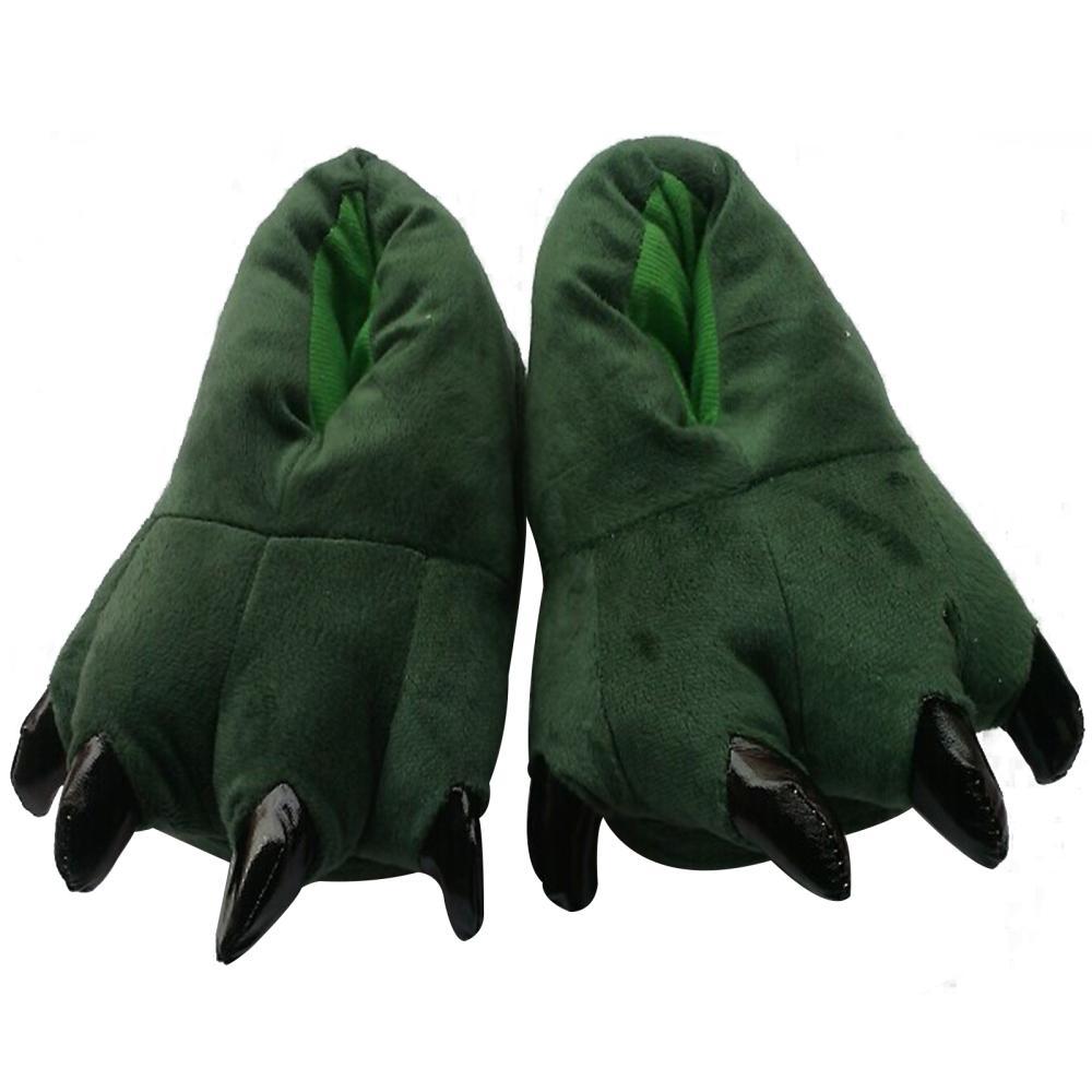 Winter Warmer Slipper Indoor Shoes Home Slipper Cartoon Bear Animal PAWS Cotton Slipper<br><br>Aliexpress