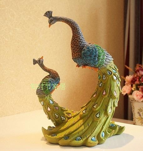 The peacock home furnishing articles peacock gift of for Gift for anniversary for couple