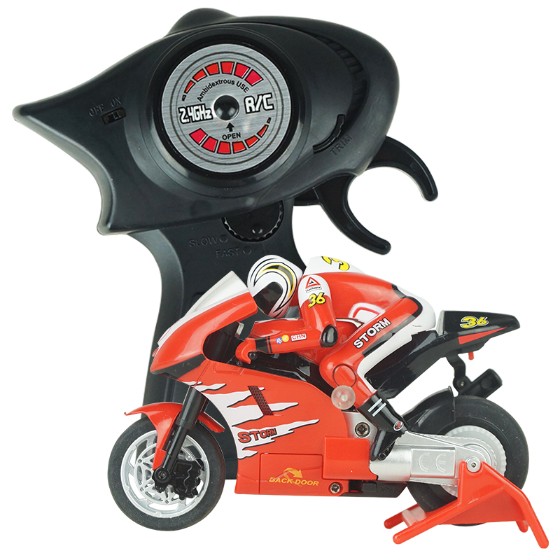Fun mini on road bike Electric rc motorcycle radio controlled motorcycle with sophisticated gyro system juguetes for kids 8112(China (Mainland))