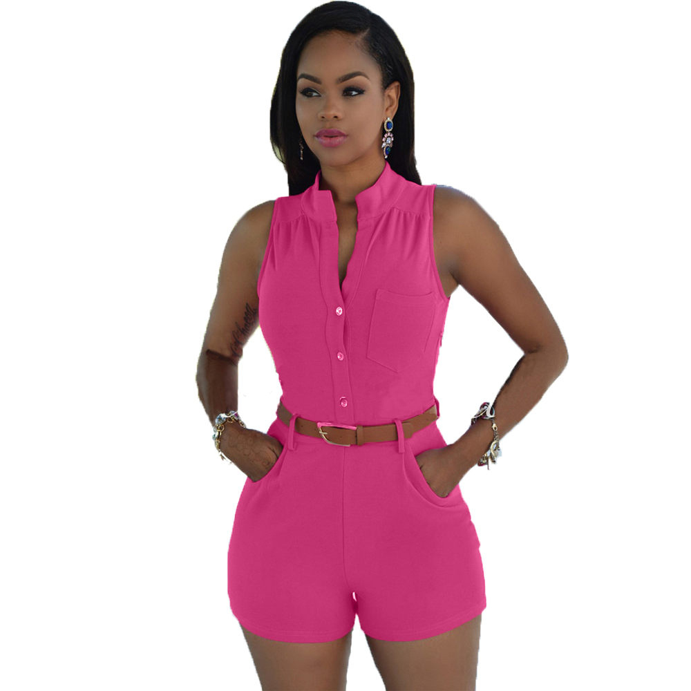 Fashion Women Playsuit Combinaison Short Femme Rompers Female Overalls Summer Brand Jumpsuit Night Club Salopette Casual Clothes(China (Mainland))