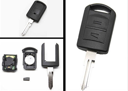 BRAND NEW 2 Button Remote Key + New Remote &amp; Transponder ID40 For Vauxhall Opel H-olden Corsa Combo Tigra 433.92MHz<br><br>Aliexpress