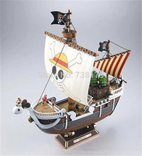 Color Box Packing 19CM Japanese Anime Cartoon Ship Model Going Merry Figures Collection High Quality Gifts for Valentine Xmas(China (Mainland))
