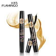 Free Shipping China Top 1 Mascara Brand New Flamingo Waterproof Lengthening Curling Thick Eyelash 4D Extremely Long Mascara 6368